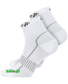 Craft Cool Training 2-Pack Sock - skarpety sportowe - białe