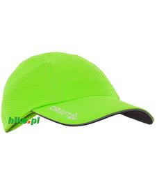 Craft Running Cup - czapka do biegania - zielona