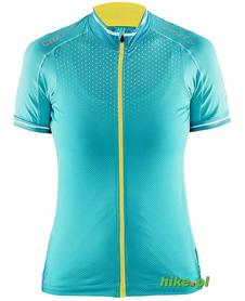 Craft Glow Jersey - damska koszulka rowerowa - turkusowa SS15