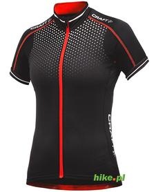 Craft Glow Jersey - damska koszulka rowerowa - czarna SS15