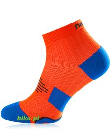 Nessi RMN3 - skarpety do biegania - pomarańczowo-niebieskie
