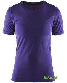 Craft Cool Seamless Short Sleeve - damska koszulka - fioletowa SS15