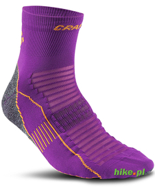 Craft Cool Bike Sock - skarpety rowerowe - ciemnofioletowe