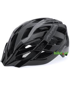 Alpina Panoma - kask rowerowy - czarny metalic