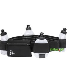 Craft Water Belt - pas do biegania z bidonami - czarny