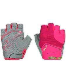 Ziener Cenna Lady Gel - damskie rękawiczki rowerowe - różowe