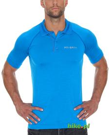 Brubeck Prestige - męska koszulka polo - niebieska