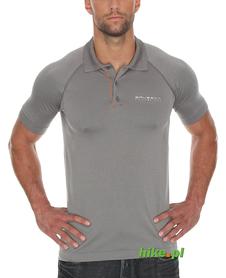 Brubeck Prestige - męska koszulka polo - szara