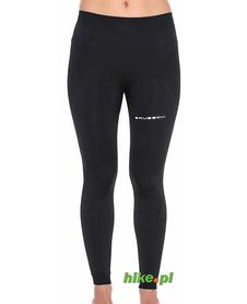 Brubeck Running Force - damskie legginsy do biegania - czarne