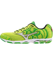 Mizuno Wave Hitogami 2 - damskie buty startowe do biegania - zielone