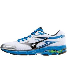 Mizuno Wave Connect 2 - buty do biegania - biało-niebieskie