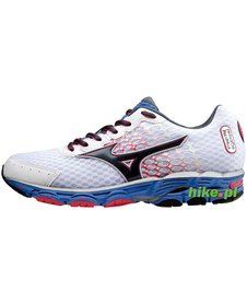 Mizuno Wave Inspire 11 - damskie buty do biegania - białe