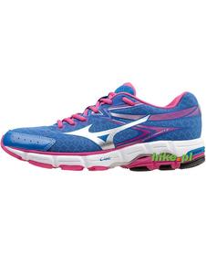 Mizuno Wave Connect 2 - damskie buty do biegania - niebieskie