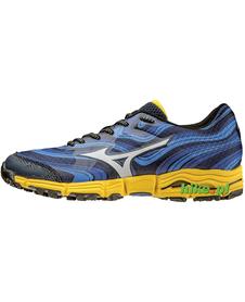 Mizuno Wave Kazan - buty do biegania w terenie - niebieskie