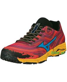 Mizuno Wave Kazan - buty do biegania w terenie - czerwone