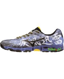 Mizuno Wave Hayate - buty do biegania w terenie - niebieskie