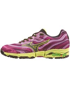 Mizuno Wave Kazan - damskie buty do biegania w terenie - różowe