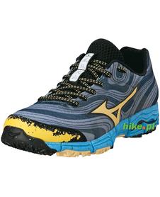 Mizuno Wave Kazan - damskie buty do biegania w terenie - szare