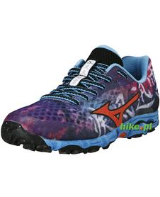 Mizuno Wave Hayate - damskie buty do biegania w terenie - ciemnofioletowe