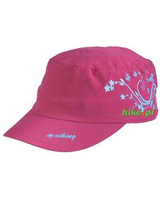 Viking Bali - damska czapka z daszkiem - różowa
