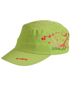 Viking Bali - damska czapka z daszkiem - zielona