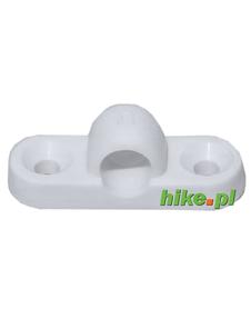 Brunner Supporter - plastikowy zaczep przedsionka - biały