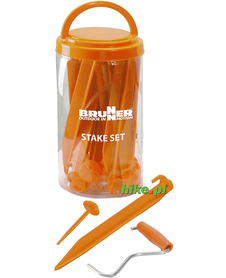 Brunner Stake Set - zestaw śledzi i szpilek