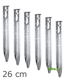 Brunner Turcal - śledzie 26 cm - 6 sztuk