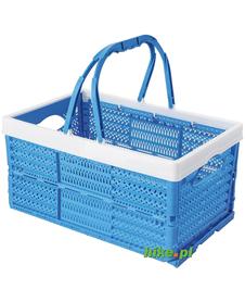 Brunner Lapsy - składany koszyk - niebieski