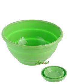 Brunner Foldaway Bowl - składana miska - zielona