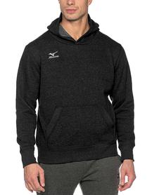 Mizuno Hooded Sweat - męska bluza z kapturem - czarna