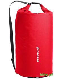 Crosso Expert Bag 50 L - worek transportowy na tylny bagażnik - czerwony