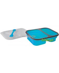 Brunner Snack Box 1.6 L - składany pojemnik obiadowy - niebieski