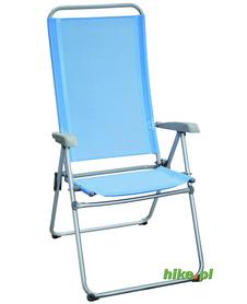 Brunner Joy - rozkładane krzesło turystyczne - niebieskie
