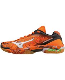 Mizuno Wave Mirage - buty halowe - pomarańczowe