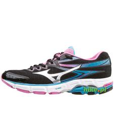 Mizuno Wave Connect 2 - damskie buty do biegania - czarno-różowe