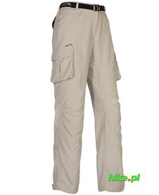 Milo Nagev Long Lady Sand - damskie spodnie trekkingowe