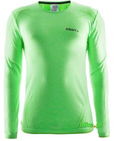Craft Active Comfort RN LS - koszulka męska z długim rękawem zielona