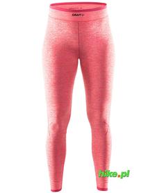 Craft Active Comfort Pants - damskie ciepłe getry czerwone