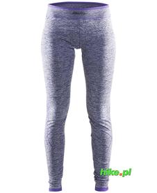 Craft Active Comfort Pants - damskie ciepłe getry fioletowe