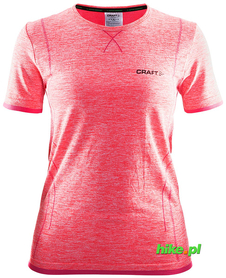 Craft Active Comfort RN SS - koszulka damska z krótkim rękawem czerwona