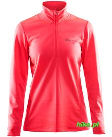 Craft Swift Halfzip damska bluza różowa
