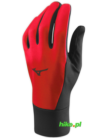 rękawiczki Mizuno WarmaLite Glove czerwone
