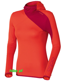 Odlo Hoody Midlayer Cima Tosa damska bluza pomarańczowa