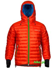 Milo Manali męska kurtka puchowa pomarańczowa