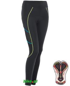 Berkner Debra II - damskie spodnie rowerowe - czarne