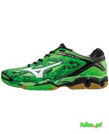 Mizuno Wave Stealth 3 - buty halowe - zielone