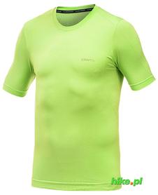Craft Cool Seamless Short Sleeve - męska koszulka - limonka SS16