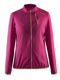 Craft Mind Jacket - damska kurtka do biegania - różowa rozm. XS