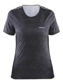 Craft Mind SS tee - damska koszulka - czarny print SS16
